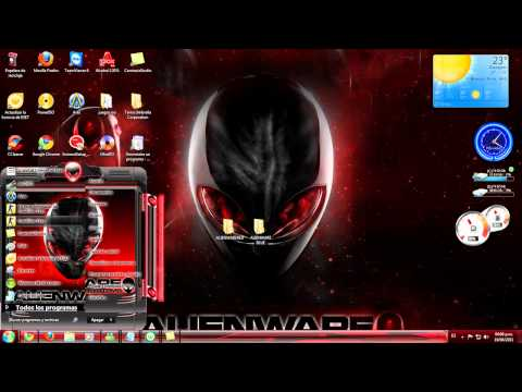 tema para windows 7 de alienware