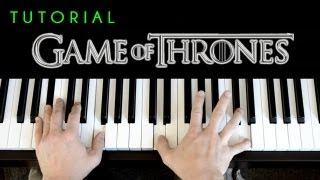 Game Of Thrones Theme (piano tutorial & cover)