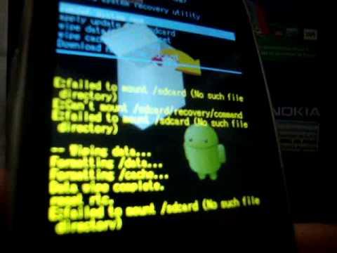 Quitar Código Patrón de Motorola Spice Key XT316 - En www.decodigos.com