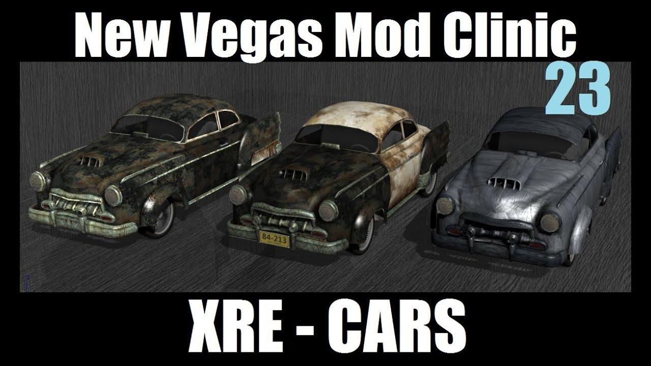 Fallout New Vegas Cars Fallout New Vegas Mod Clinic