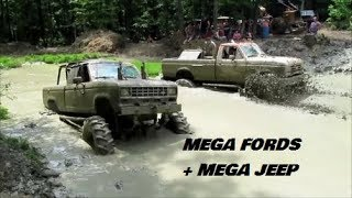 2018:   TYLER, DOUG , KEITH ,     MEGA  MUDDER ACTION !!