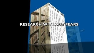 "RESEARCH WITHOUT FEARS - ""Finding Scholarly Sources"""