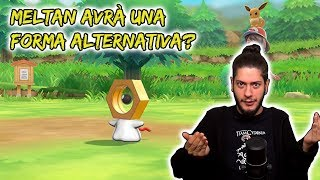 Meltan avrà una forma alternativa?