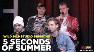 Download Lagu 5 Seconds of Summer talks the New Album, Their Genre, and Who 'Want You Back' is About Gratis STAFABAND