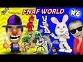 FNAF WORLD #6: The Secret White Rabbit!?!? FGTEEV Duddy witho...