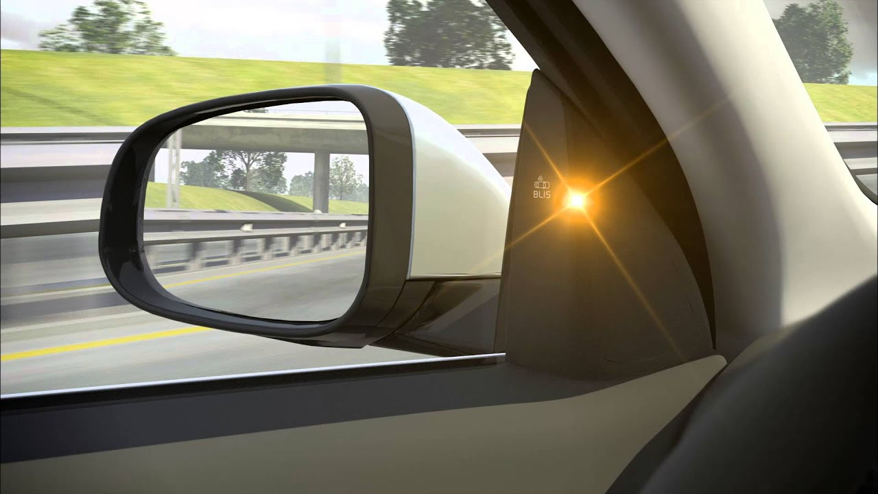 BLIS - Blind Spot Information System Overview - Volvo S60 - YouTube
