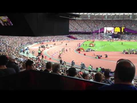 Usain Bolt in 200m Men Semi Final Heat 2  Olympic Games London 2012 Video By Kieran Carlin
