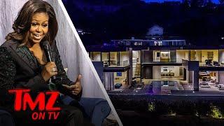 Michelle Obama Rents An AMAZING LA Home | TMZ TV