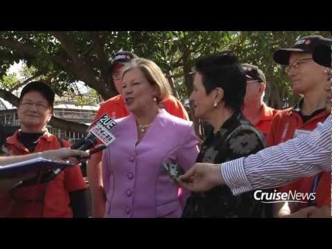 Cruise Season Launch Sydney Australia & City of Sydney Cruise Volunteers Program