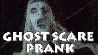 Ghost Scare Prank - Scaring people in public prank - Halloween pranks - funny scare pranks