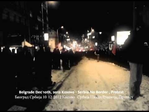 Kosovo No Border Protest/ Косово Никад Граница Протест - Serbia , Belgrade