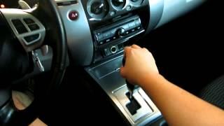 Montero Sport 2012 GLS-V Backing Issue