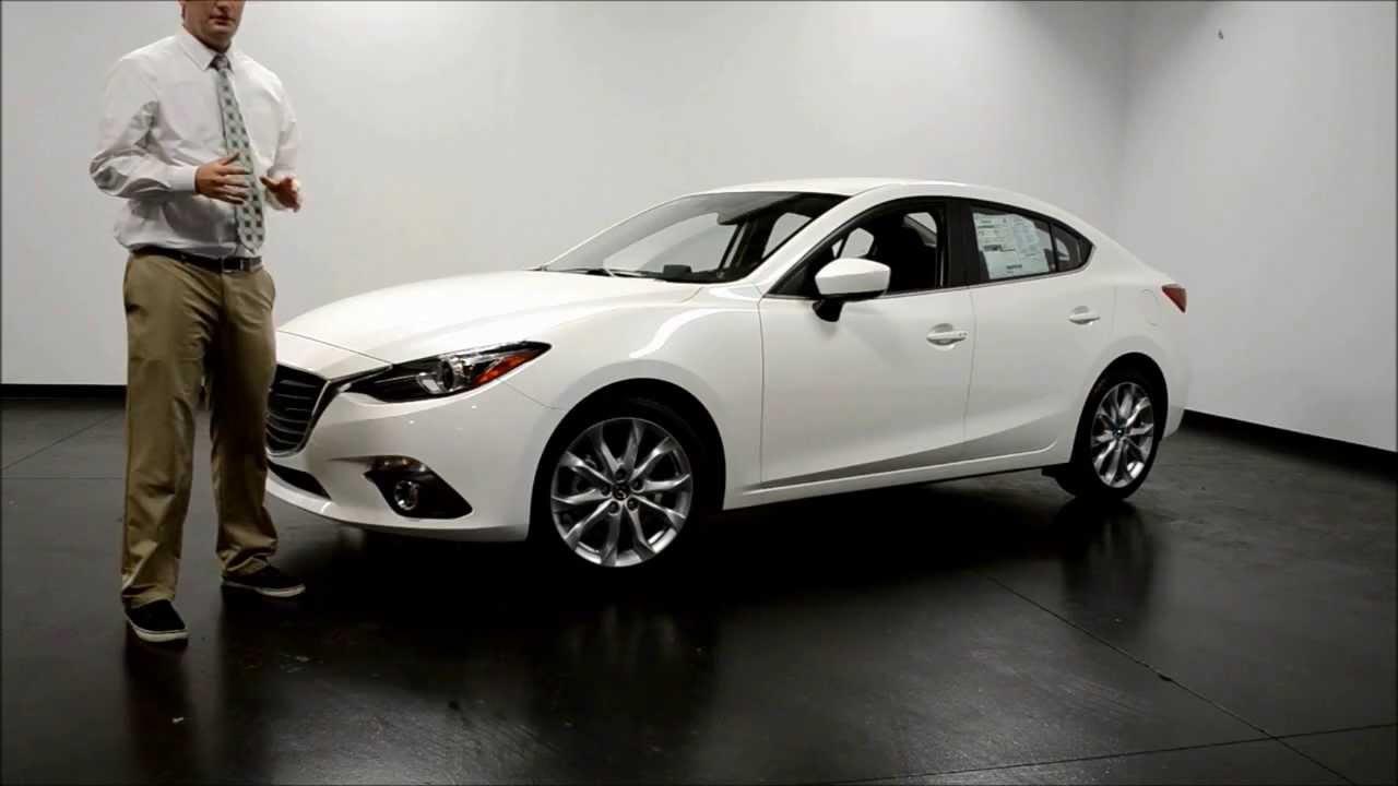 Mazda 3 2014 Hatchback White >> New 2014 Mazda 3 Sedan - YouTube