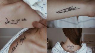 Dövmelerim ve Anlamları