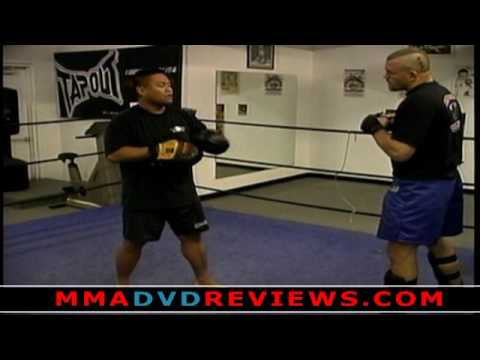 Chuck Liddell - MMA Focus Mitt and Thai Pad Training Drills