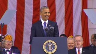 Obama delivers final Veterans Day address