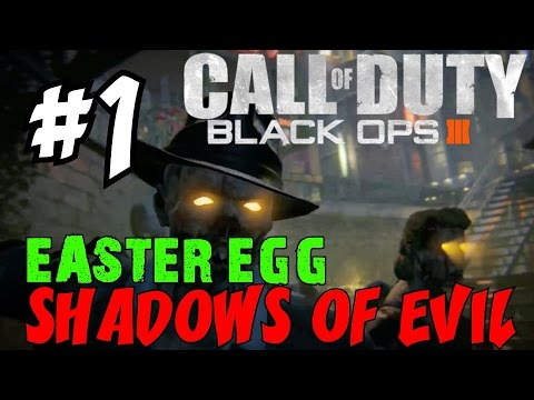 """BLACK OPS 3 ZOMBIES: Shadows of Evil! ★ """"LIVE EASTER EGG RUNTHROUGH! [1]"""" Let's Play / Walkthrough"""