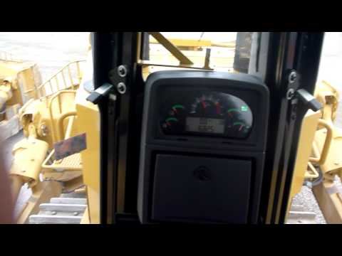Cat D10T Bulldozer Cab View