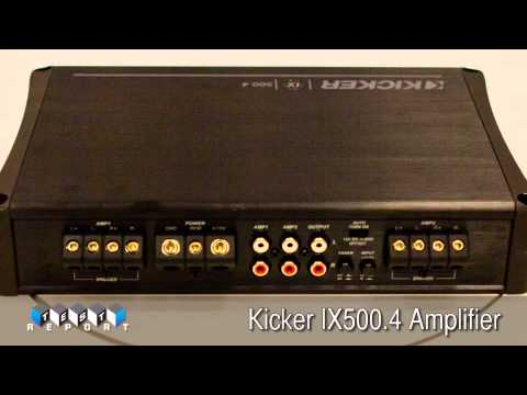 Kicker IX4 Amplifier