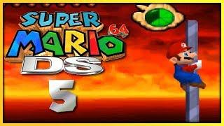 Super Mario 64 DS #5: Bowser in the fire sea!