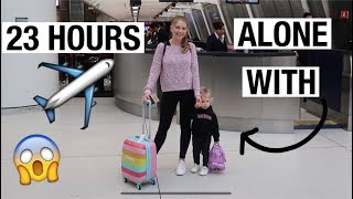 TRAVELING FOR 23 HOURS ALONE WITH A TODDLER TO RUSSIA I Julia Hunt