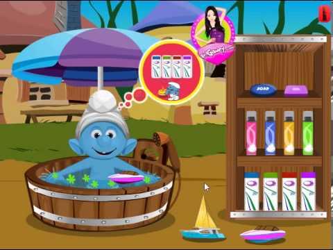 Smurfs Купания новая видеоигра