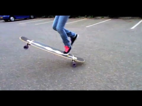 LongboardUK Trick Tips: Shuvit (Shove-it) Loaded Bhangra