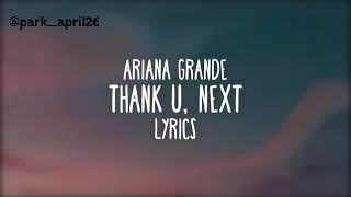 Vidio dan lirik ariana grande thank you next