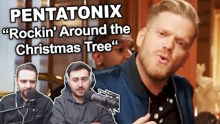 34 Pentatonix Rockin 39 Around The Christmas Tree 34 Singers Reaction