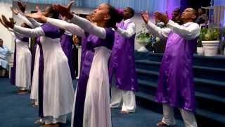 Azaliah Dance Ministry ' Turning Around for Me' ~ Vashawn Mitchell