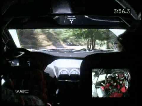 WRC Rally 2005 Turkey Gianluigi Galli Onboard pure sound