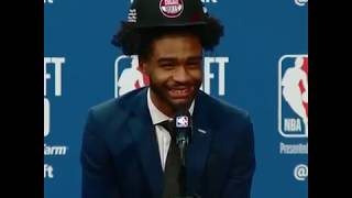 Coby White Had The Best Reaction To UNC Teammate Cam Johnson Getting Drafted