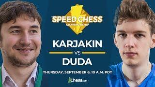 2018 Speed Chess Championship: Karjakin vs Duda