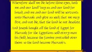 Chuck Missler -Genesis Session 23 Ch 46 48, 50 The Family In Egypt