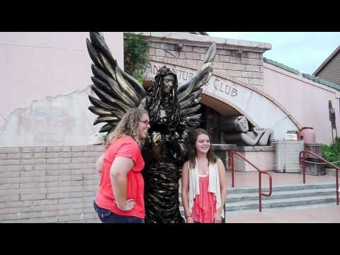 Living Statues surprise guests in Pleasure Island at Downtown Disney, Walt Disney World