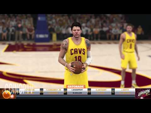 NBA 2K15 LeBron James Cavs vs Knick  Gameplay