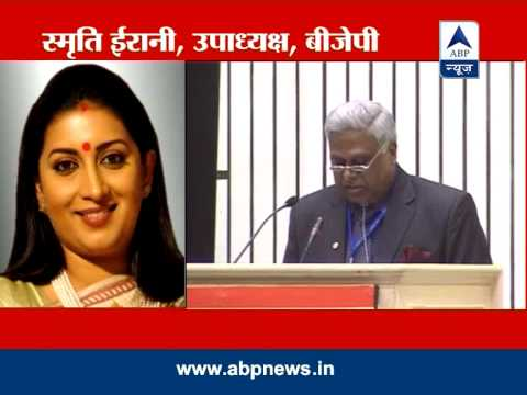 Smriti Irani slams CBI Director for his rape remark