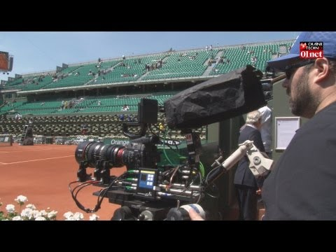France TV teste l'Ultra HD à Roland Garros