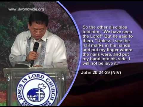 Why Faith Is So Important - Bro. Eddie C. Villanueva