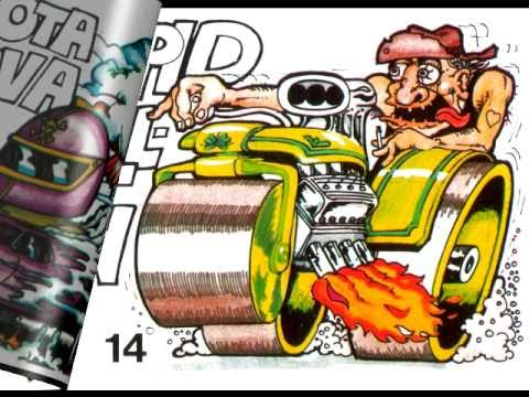 Crazy Odd Rods Gum Stickers Rare Youtube