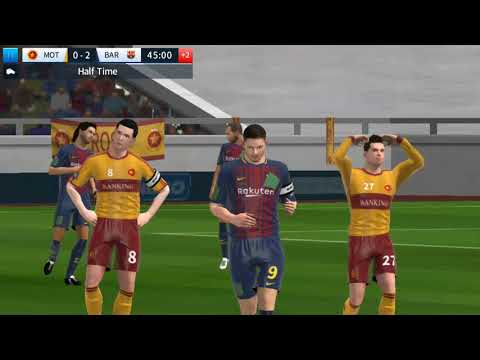 MOTHERWELL vs FB BARCELONA nice game. football