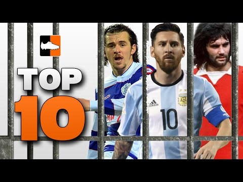 Top 10 Footballers who have been to Prison