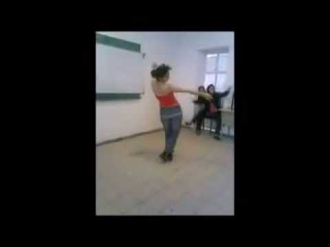 رقص دختر ایرانی در مدرسه