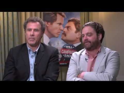Will Ferrell and Zach Galifianakis Interview for THE CAMPAIGN