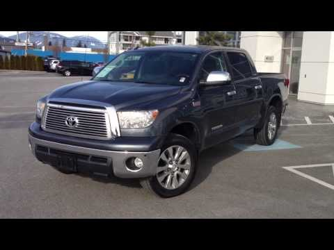 (SOLD) 2010 Toyota Tundra Crewmax Preview, At Valley Toyota Scion In Chilliwack B.C. # 14683A