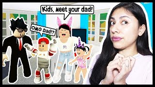 MY KIDS MET THEIR DAD FOR THE FIRST TIME! - Roblox Roleplay