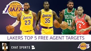 Lakers Rumors: Top 5 Free Agents The Lakers & LeBron James Will Realistically Target in 2019