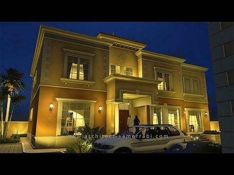 Villa in Abu Dhabi -2-  تصاميم فلل - فيلا في أبوظبي