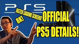 Sony Shares ps5 details! Backward Compatibility, 8k, Faster Loading Times!