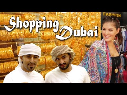 DUBAI Shopping: Gold Souk, Crazy Malls, & Indoor Skiing in the Desert